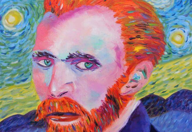"Van Gogh. Oil on canvas. 24""X30"". Original available for sale."